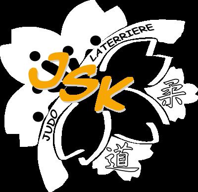 Logo inversé de l'école de judo Ju shin kan de Laterrière